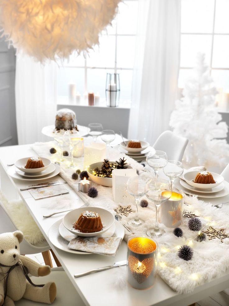 Une table de Noël tout confort