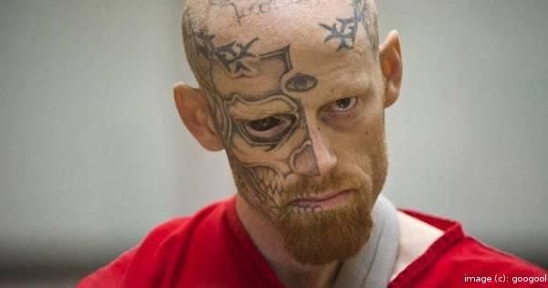 This Man's Face Might Scare You, But The Crime He Committed Is Even Worse
