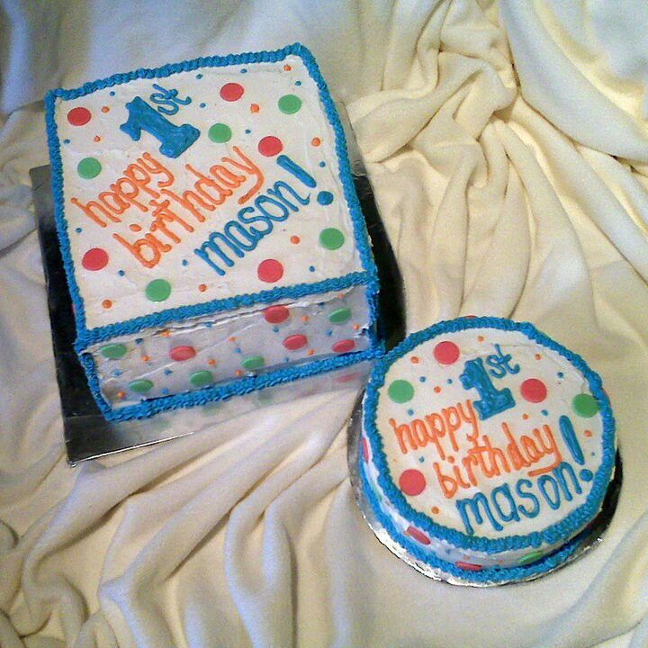 NJ Lil Boys Birthday Cakes First Boy Little One Is For The 1