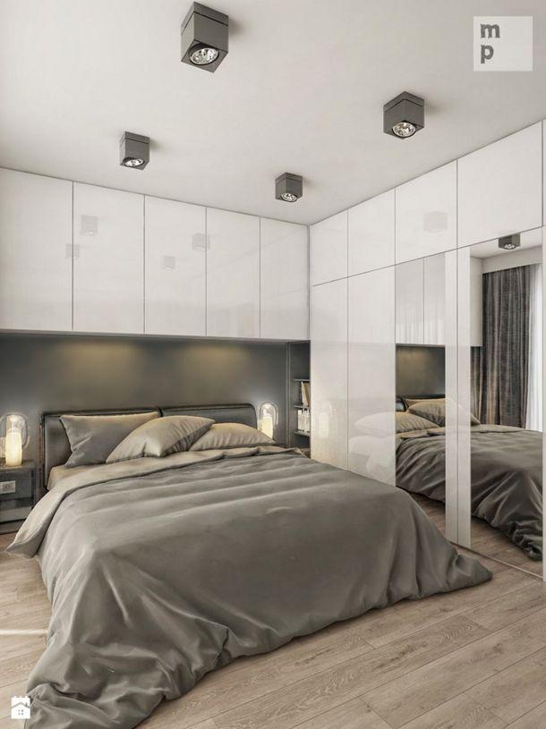 kolorystyka maksymalne wykorzystanie przestrzeni przez zabudowy szafa