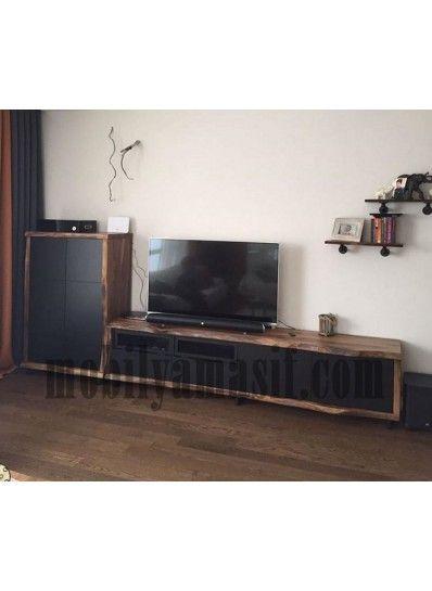 Massive black Ceviz Tv ünitesi