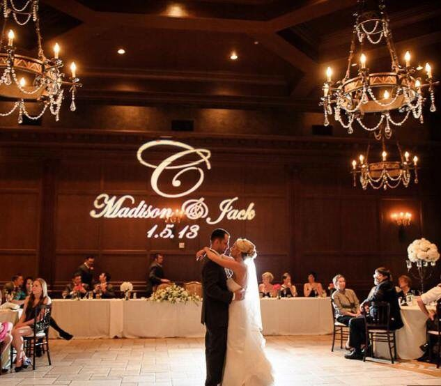 Diy Led Uplighting Rental Atlanta: 55 Best Wedding Gobos Images On Pinterest