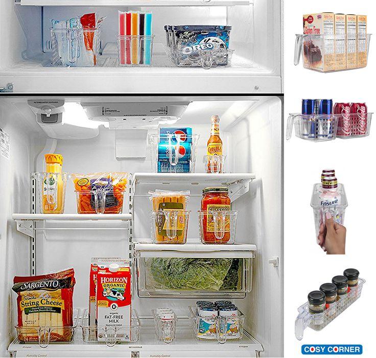 Αυτά τα καλάθια είναι ο τέλειος τρόπος για να οργανώσετε τα ντουλάπια κουζίνας, μπάνιου όπως επίσης και τα ράφια ψυγείου. Διαθέσιμα σε 3 μεγέθη. https://goo.gl/xTbWdf