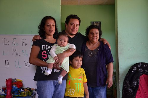 Our beloved Arisandy and family. Arisandy has been our VIDA agronomist since day one!