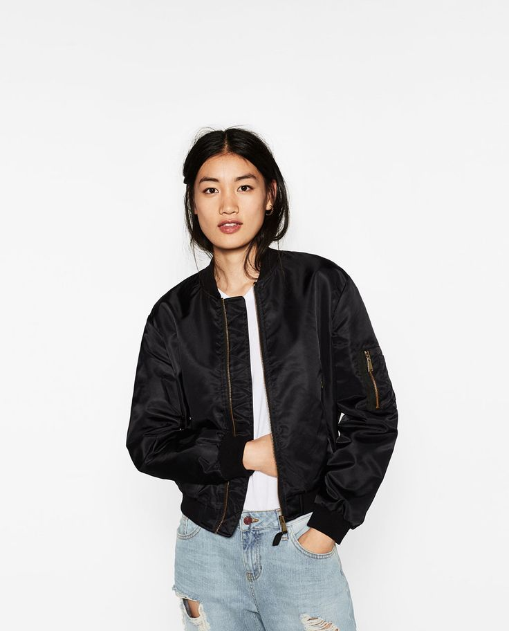 ZARA - WOMAN - QUILTED BOMBER JACKET