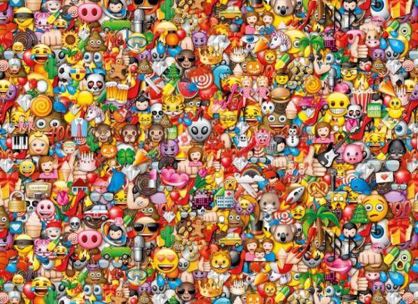 Puzzle CLEMENTONI: Puzzle de 1000 piezas Caritas de los moviles ( Ref: 0000039388 ) en Puzzlemania.net