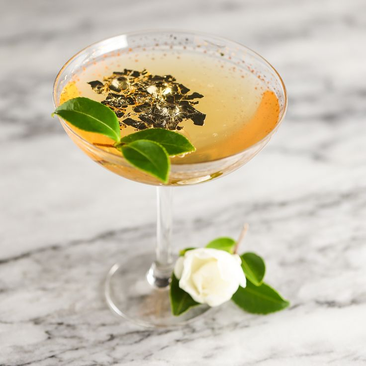 New Year's Tea Cocktails & The Golden Camellia | Thirsty For Tea