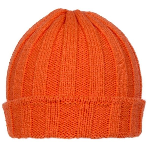 TopHeadwear Winter Ribbed Pocket Beanies (6.75 CAD) ❤ liked on Polyvore featuring accessories, hats, beanie caps, beanie cap hat, ribbed beanie, orange hat and ribbed beanie hat