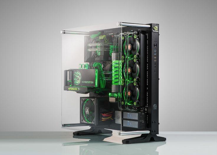 Rig Spotlight: Wei Zheng's NVIDIA-themed Core P5 | GeForce