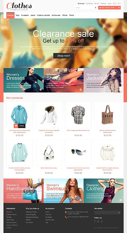 Magento #template // Regular price: $162 // Unique price: $5400 // Sources available: .PSD, .XML, .PHTML, .CSS #Fashion #Magento