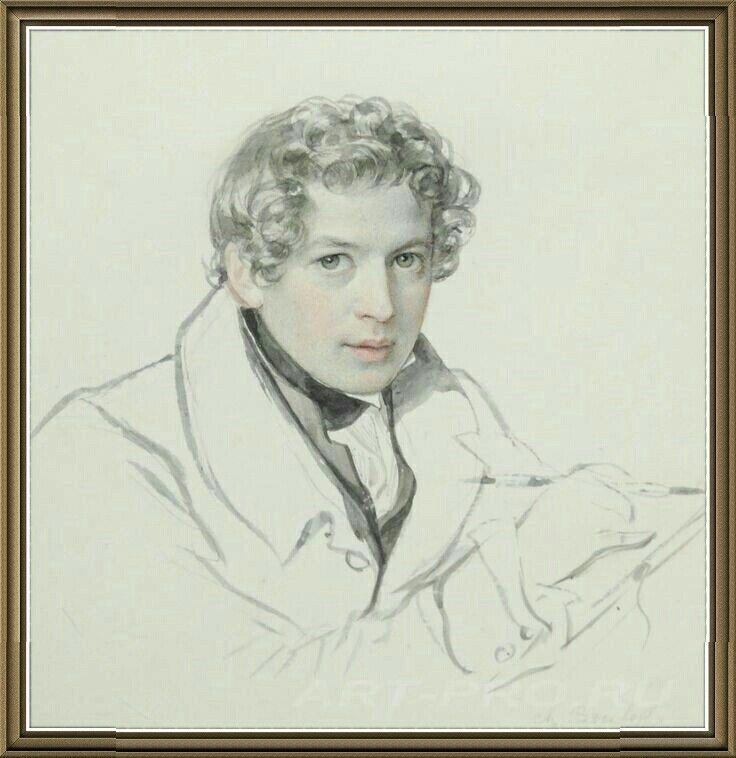 Карл Брюллов - Автопортрет.