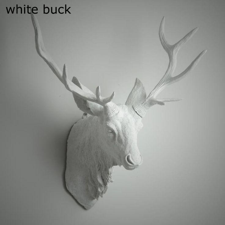 Animal Bust Deer Rhino Bust Buck Antelope