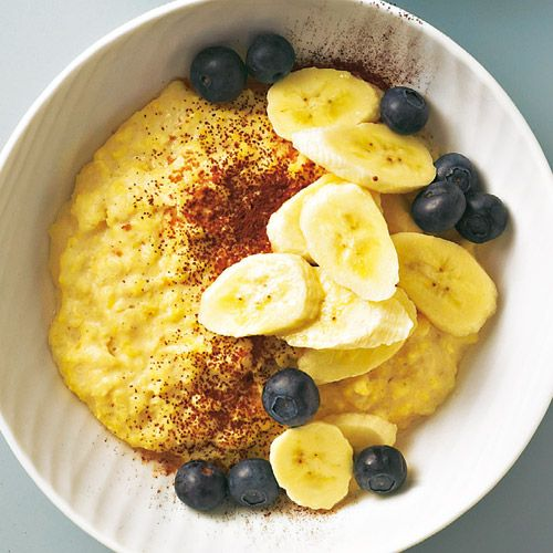 Veganer Erdnuss-Hirse-Brei