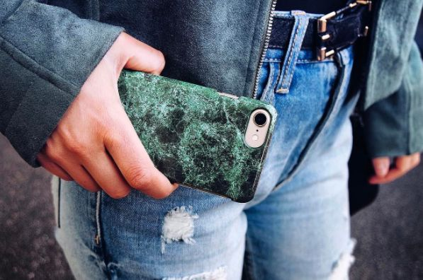 Wow @Mariellelindahl, Green Marble, iDeal Of Sweden, iPhone, Fashion, Inspo, Phone Case,