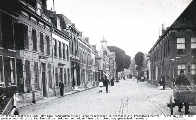 1885 - Jansweg Haarlem - Serc