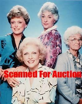 Betty White Bea Arthur Estelle Getty Rue McClanahan Golden Girls Photo 2123: Product Information This is an 8 X 10 photo. The… #OnlineMarket