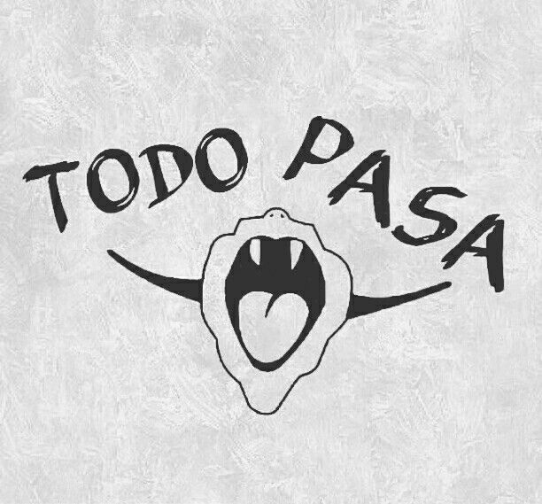 Todo pasa!! ✌✌