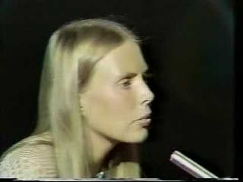 Joni Mitchell - Girl from the North Country (Johnny Cash Show) - Bob Dylan Cover #video #Nashville #Skyline