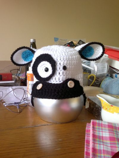 Gallery - Thing-a-ma-bobs Babys Cow Hat