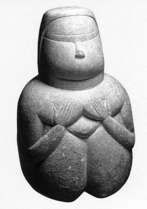 THIS IS 'THE MOTHER GODDESS SARDA prenuragic Ozieri culture (3500-2700 BC), Sardinia
