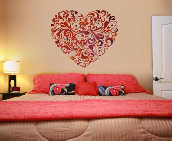 50  Beautiful Designs Of Wall Stickers   Wall Art Decals To Decor Your  Bedrooms. 25 best Beautiful Wall Decoration in the Bedroom images on
