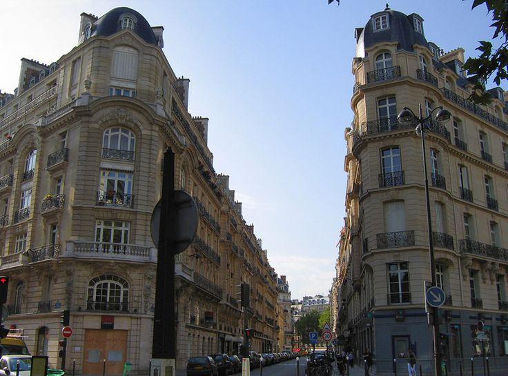 Парижская  улица.