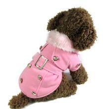 Winter Warme Hond Kleren Kostuum Kleding Hoodie Jas Nieuwe(China (Mainland))