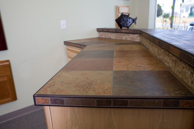 tile countertops pictures | tiled kitchen countertop a tile kitchen countertop can be customized ...