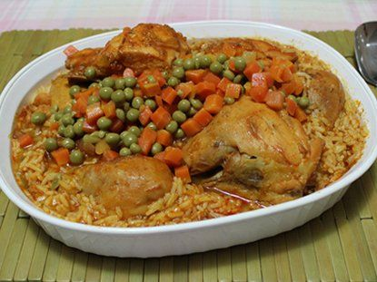 Argentine Arroz Con Pollo - Argentine Rice Chicken Recipe