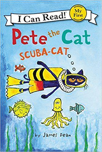 Amazon.com: Pete the Cat: Scuba-Cat (My First I Can Read) (9780062303882): James Dean: Books