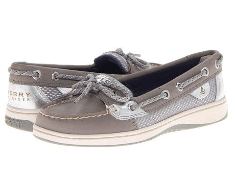 Sperry Top-Sider Angelfish Charcoal/Silver Sporty Mesh - Zappos.com Free Shipping BOTH Ways