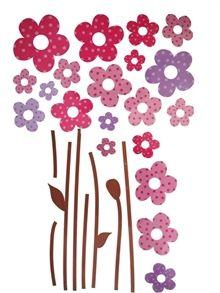 Stickers til væg - Blomster
