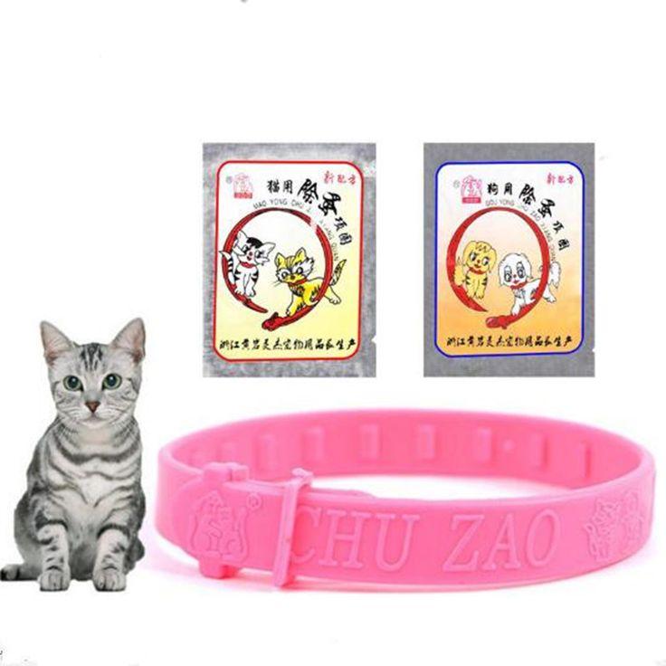 Pet Ticks Insect Drive away Flea Collar for Dog Cat Pet Supplies Adjustable pet cat collar Large Small Dogs Cats Flea Collars