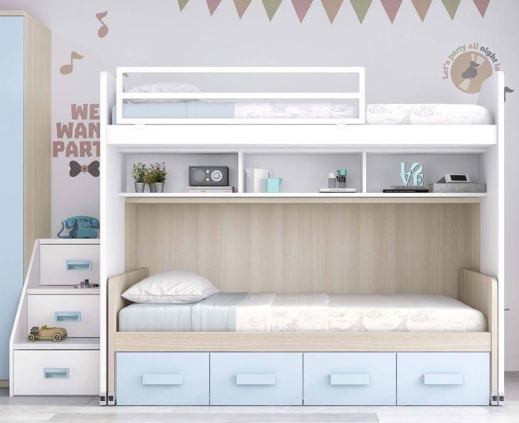 M s de 1000 ideas sobre cama alta en pinterest camas de for Cama nido nina barata