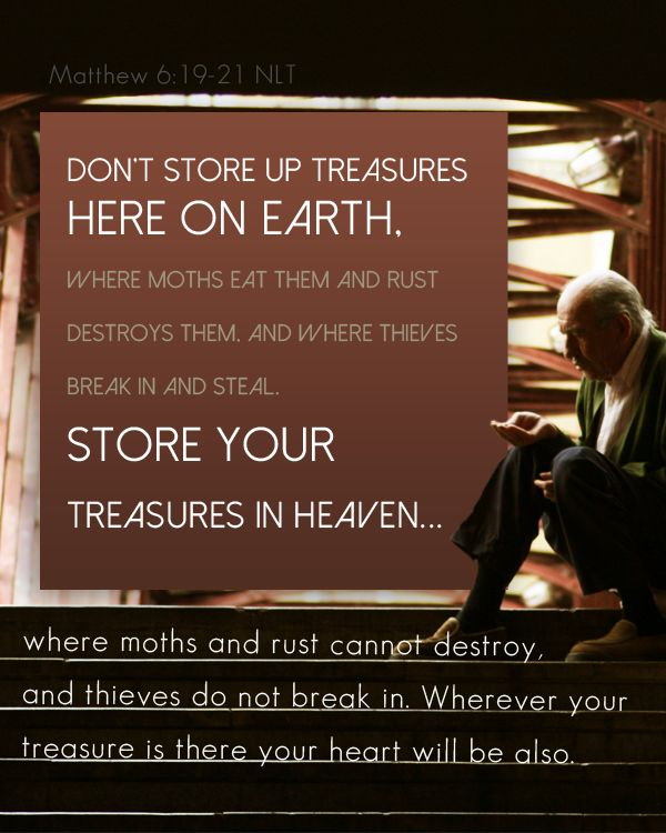 Matthew 6:19-21 | Word on the WAY