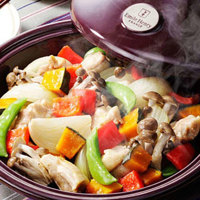 花蓮 - 赤・黄・緑のビタミン・ミネラル!彩り野菜と丹波鶏のタジン鍋