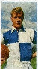 Alfie Biggs of Bristol Rovers in 1956.