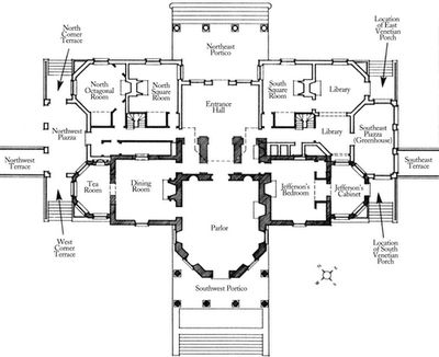 17 best images about floor plans on pinterest pastries for Monticello house plans