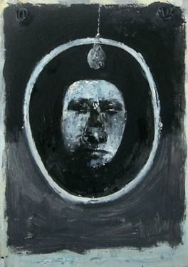 """Saatchi Art Artist Espen Erichsen; Painting, """"Medallion (Study)"""" #art"""