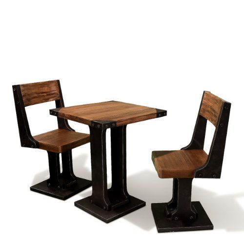 Monterey 3pc Wood Dining Set . $440.99. Includes Table And 2 Chairs. Chair: