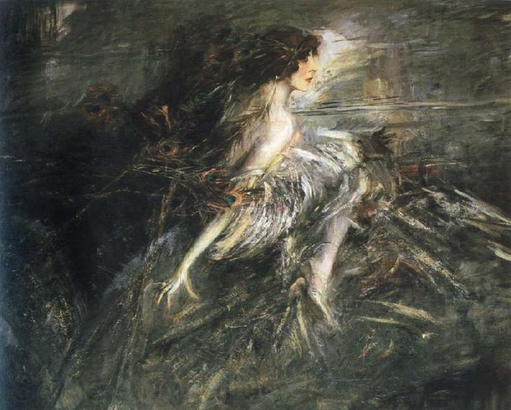 Portrait of the Marchesa Casati - Giovanni Boldini (1914)