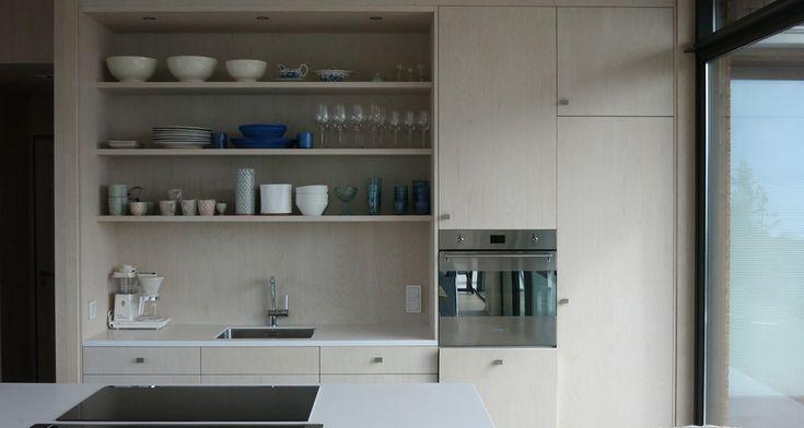 JOMFRULAND- scandinavian & light birch kitchen
