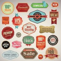 quality certification label design