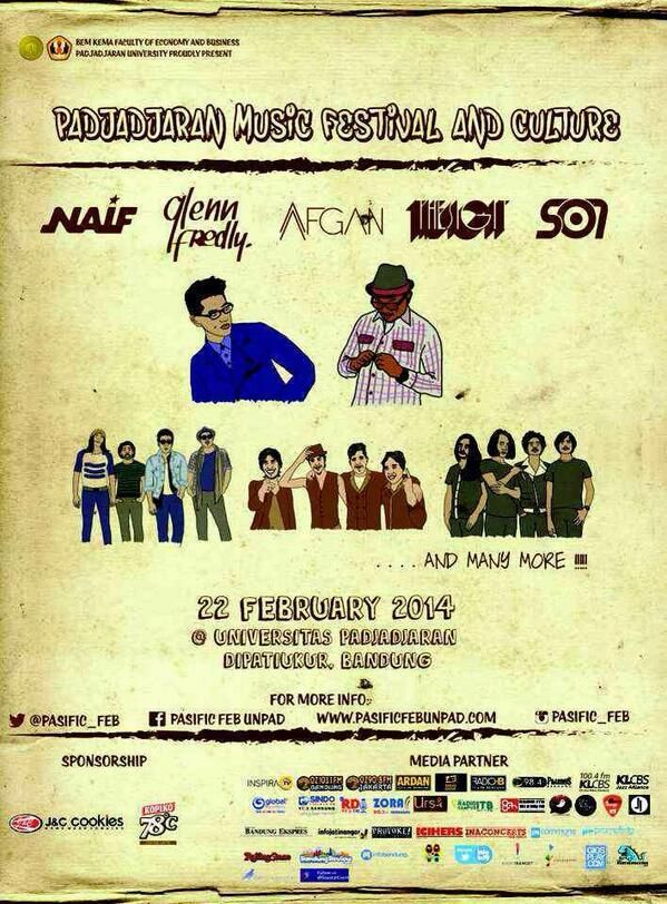 FEB UNPAD GELAR PADJAJARAN MUSIC FESTIVAL AND CULTURE