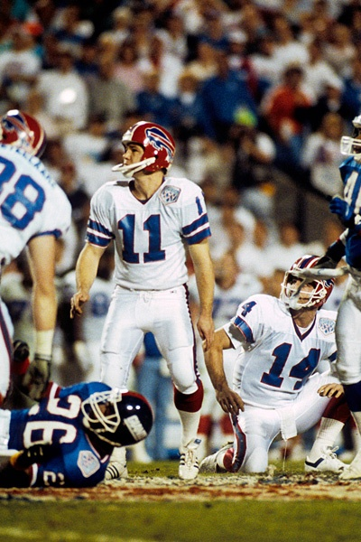 "Scott Norwood, Buffalo Bills  ""Wide Right but a great player and should have respect for his stats......"