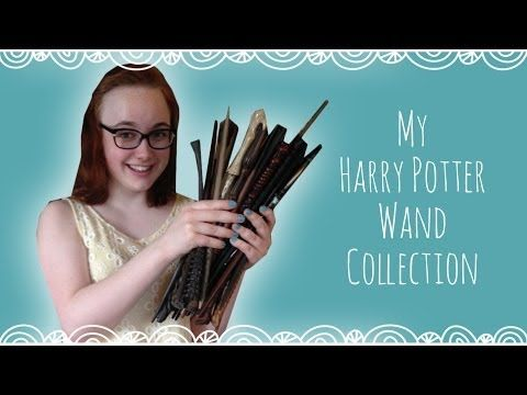 My Harry Potter Wand Collection - YouTube