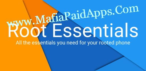 """Root Essentials Premium v2.2.12 Apk   All in one toolbox for your rooted phone tablet and Android Wear. This set of tools delivers all you need for your rooted handheld. """"Do you need more in this all in one root toolbox? Why don't you tell us!"""" Adoptable Storage Enable Adoptable Storage on any Android device running Marshmallow or later. (Including Galaxy S7 and LG G4).  App Install Location Set the install location where apps will be installed to by default.  App Manager Get in control of…"""