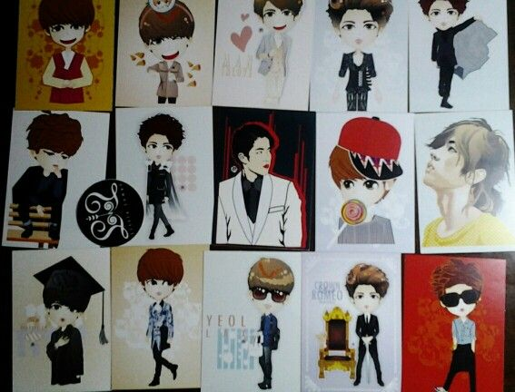 """Card collection """"Lee Sungyeol"""""""