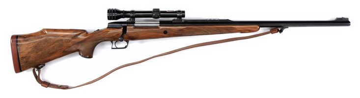 Champlin-Haskins Keith Grade Rifle SN 1, .458 Win Mag.