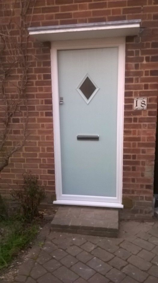 This Edinburgh Cottage Door in Duck Egg Blue would complement any older property with its beautiful timber effect finish but benefits from requiring almost no maintenance.